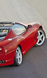 Themes Ferrari 575 screenshot 1