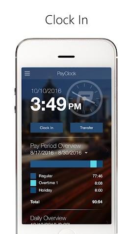 PayClock Screenshot