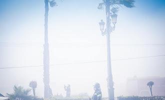 Espectaculares imágenes del incendio en Roquetas