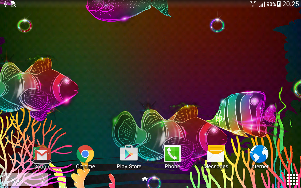 audio glow live wallpaper android