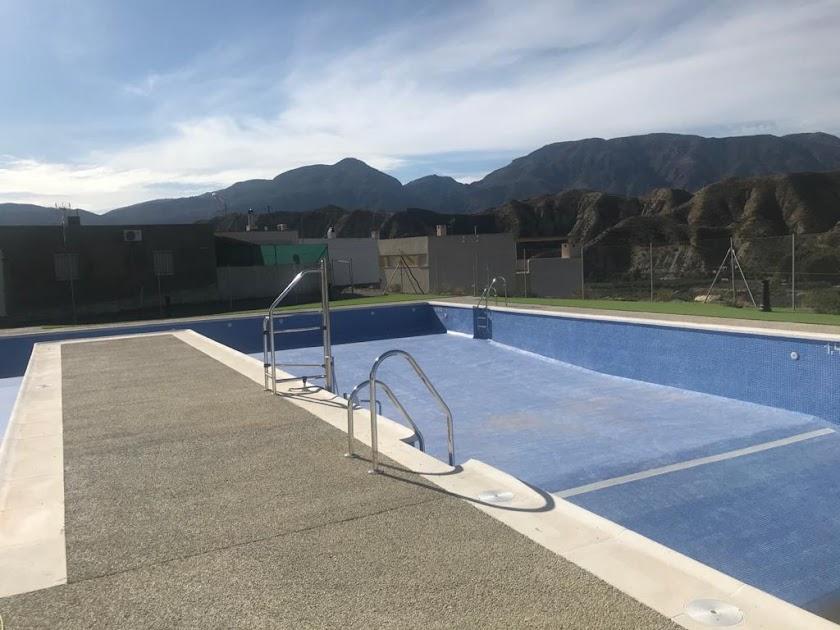 La nueva piscina de Alsodux