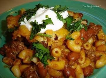 Chili Mac N beef Casserole by freda