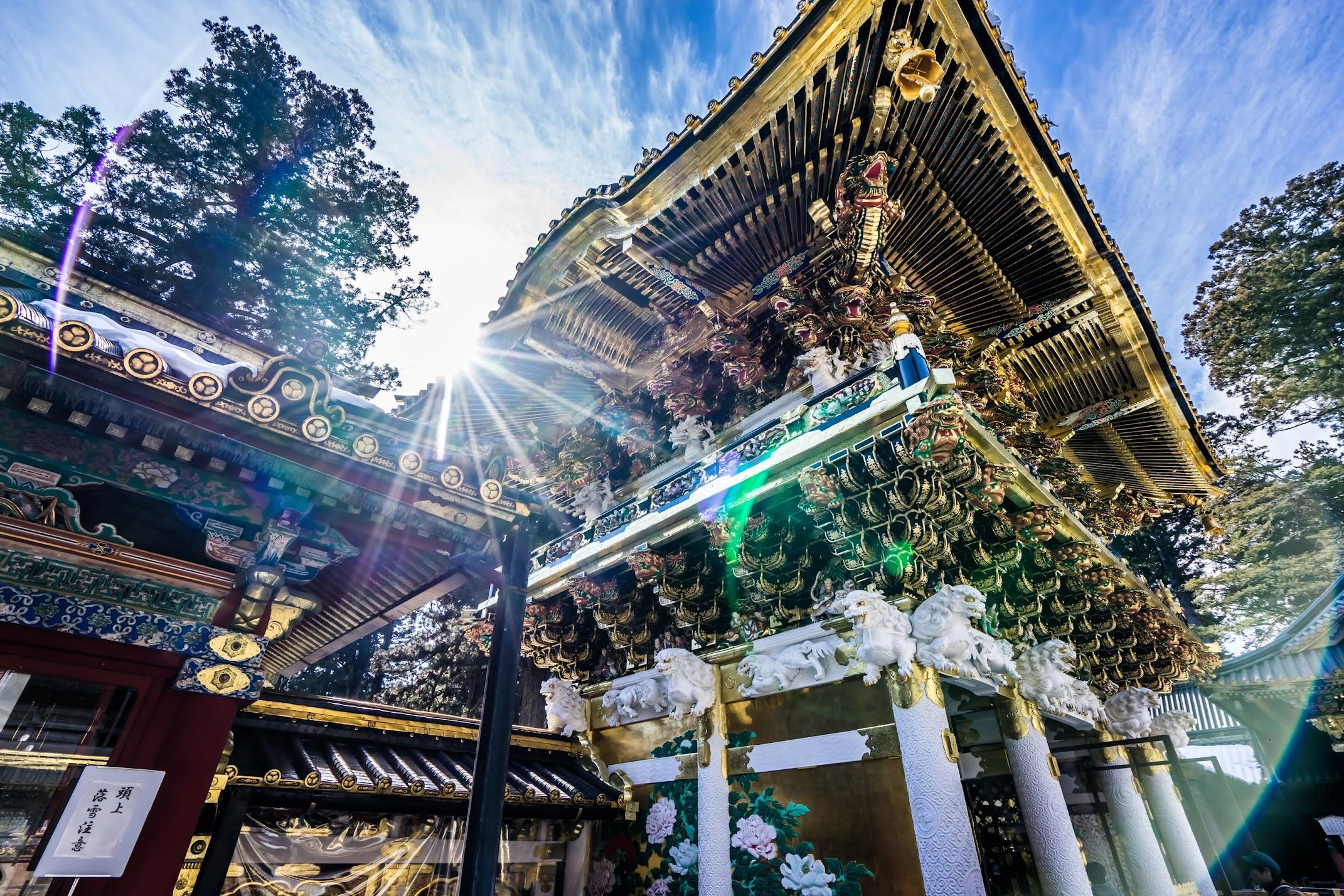 Nikko Toshogu Shrine Yomeimon Gate6