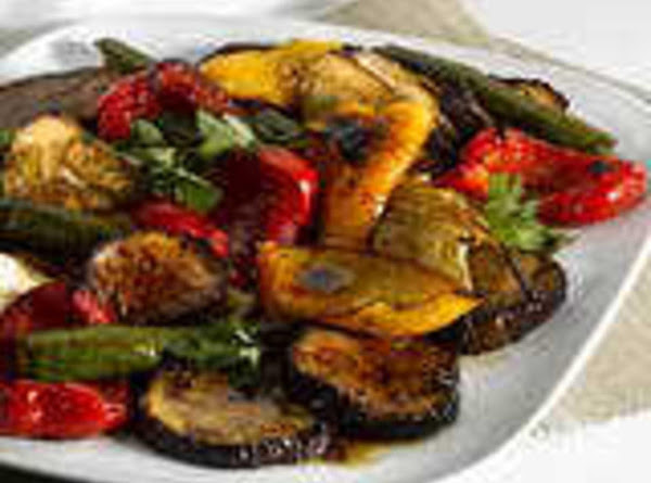 Trae's Grilled Veggies Recipe