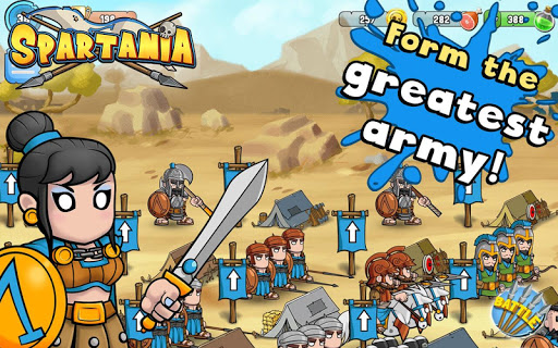 無料策略AppのSpartania: The Spartan War|記事Game