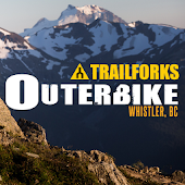 Outerbike Whistler Map