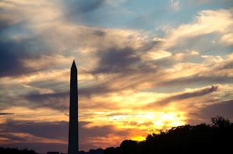 Photo: The sunset in DC  #sunsetsaturday  #sunsetphotography