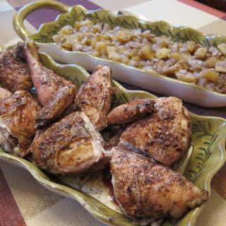 Egyptian Roasted Chicken & Potatoes.