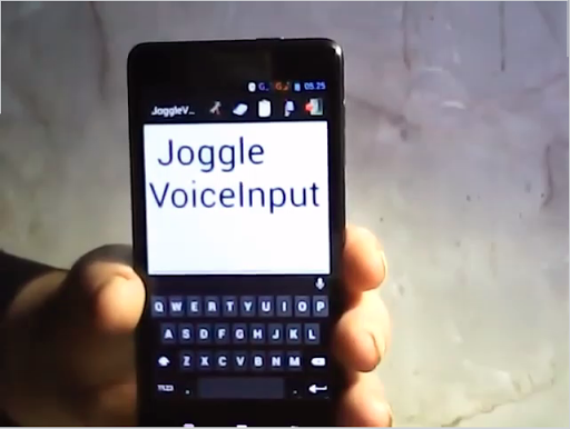 JoggleVoiceInput_demo