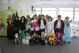 Photo: Os mais pequenos também comemoraram o dia das bruxas