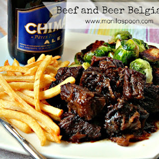 Beef and Beer Belgian Stew (Carbonnades a la Flamande)