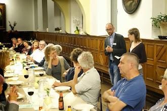 Photo: Avondmaaltijden met gerechten rond afscheid door Soleur