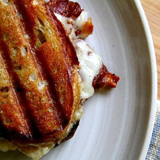 Chicken Bacon Ranch Grilled Cheese Sandwich.