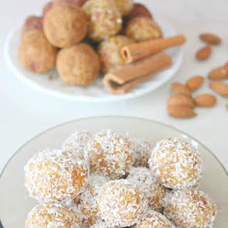 Almond Apricot Energy Balls.