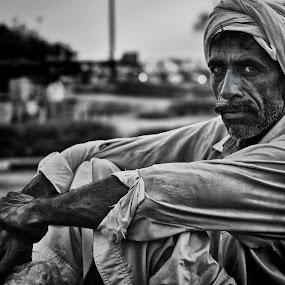 Old Man 2 by Edwin Mendoza - People Portraits of Men ( street, old man )