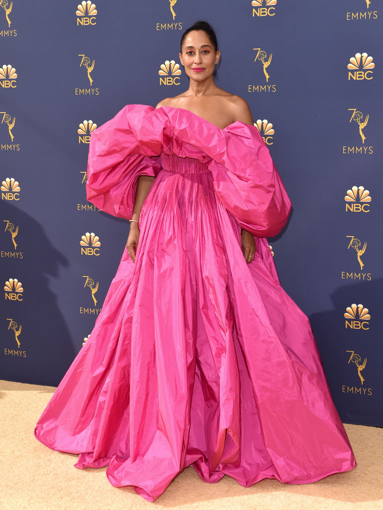 Tracee Ellis Ross at the 2018 Emmy Awards.