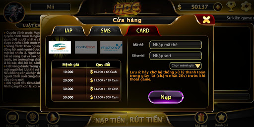 Game bu00e0i nhu1eadn quu00e0 khu1ee7ng - HDG 1.200221 screenshots 5