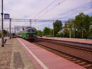 Photo: Chojnów: ET22-1166 z poc. relacji Goerlitz - Wrocław.
