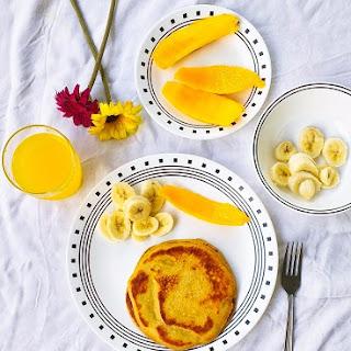 Sunrise Whole Wheat Pancakes Recipe