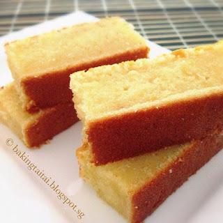 Super Moist Almond Butter Cake