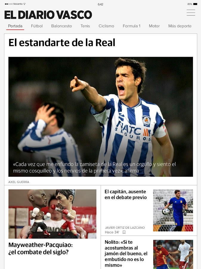 El Diario Vasco on+- screenshot