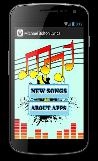 Michael Bolton Songs Said