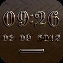 NEW YORK Digital Clock Widget icon