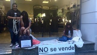 La campaña se ha movido en la calle para concienciar a la sociedad.