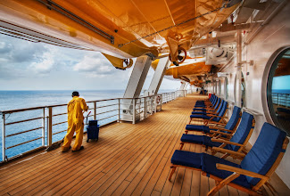 Photo: I just bought my tickets for my next Disney cruise with the family... I'm excited! :)  This photo is from the maiden voyage of the Disney Fantasy. That ship was awesome!