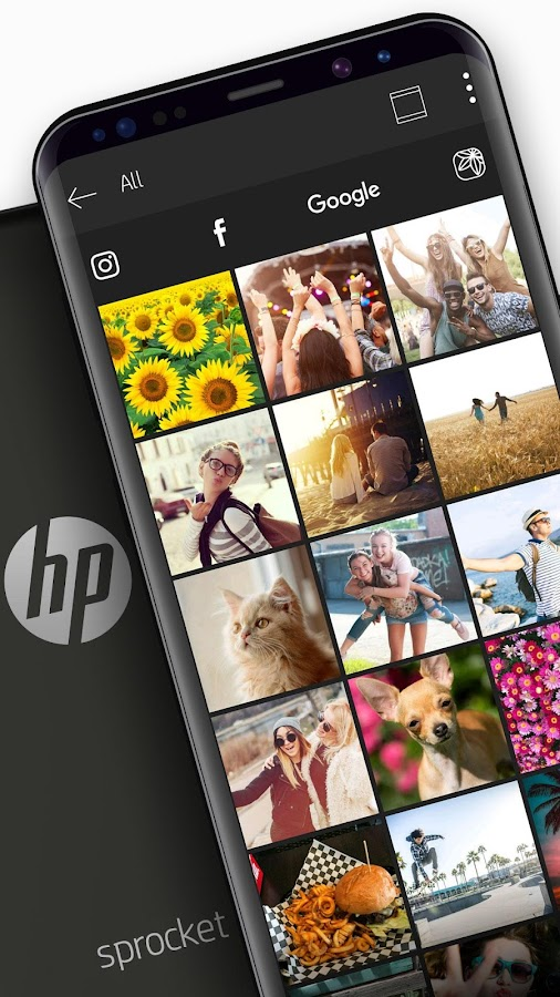 HP Sprocket – Screenshot