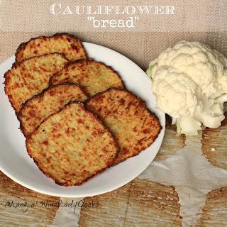 Cauliflower Bread Slices.
