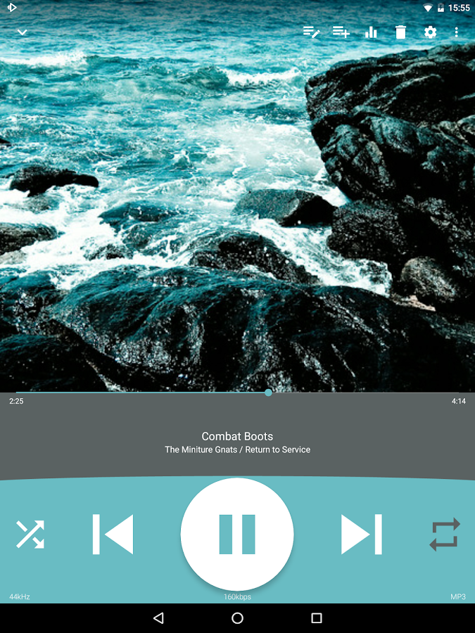 Audio Player : Rocket Player – Screenshot