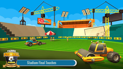 Football Stadium Builder Construction Crane Game 2.0.1 screenshots 2