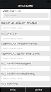 Income Tax Calculator India - náhled