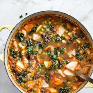 Easy Vegetable and Bean Soup.