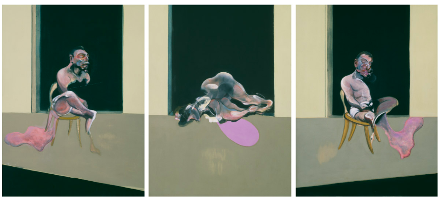 Francis Bacon (1902-1992) - Triptych August 1972