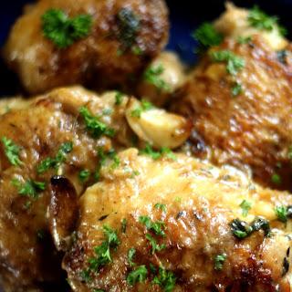 Chicken with Garlic.