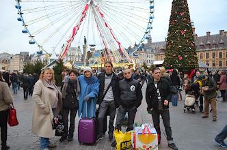 Photo: Action citoyenne pour aider les sans voix à Lille.