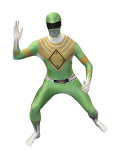 Morphsuit, Power Rangers grön