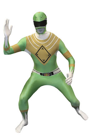 Morphsuit, Power Rangers grön