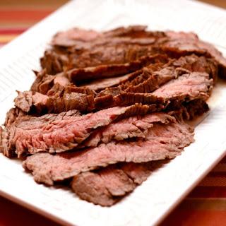 Sundried Tomato, Rosemary, and Balsamic Marinated Flank Steak Recipe