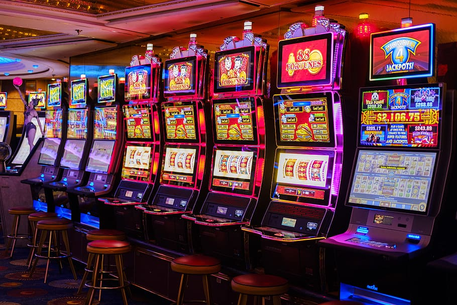 Eight empty slots machines that you can use the best slots bonuses on