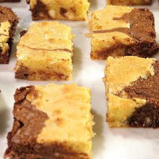 Triple Chocolate Swirl Brownies.