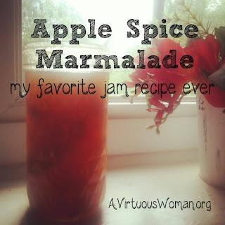 Apple Spice Marmalade