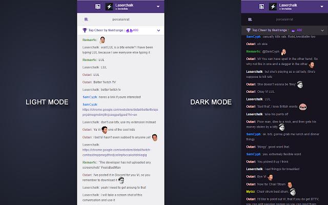 Twitch Contrast