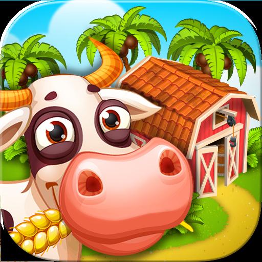 Baixar Farm Zoo: Vila a ilha da baía para Android