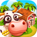 Farm Zoo: Vila a ilha da baía icon