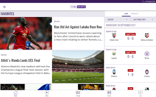 Download beIN SPORTS Google Play softwares - awNMo71oL4tp | mobile9