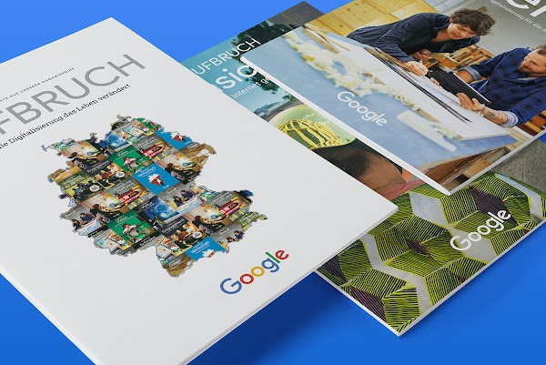Das Google Aufbruch Magazin: Vordenker zum Nachlesen