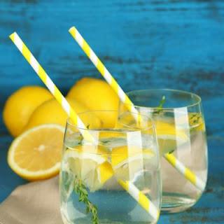 Low-Cal Citrus Lemon Cocktails
